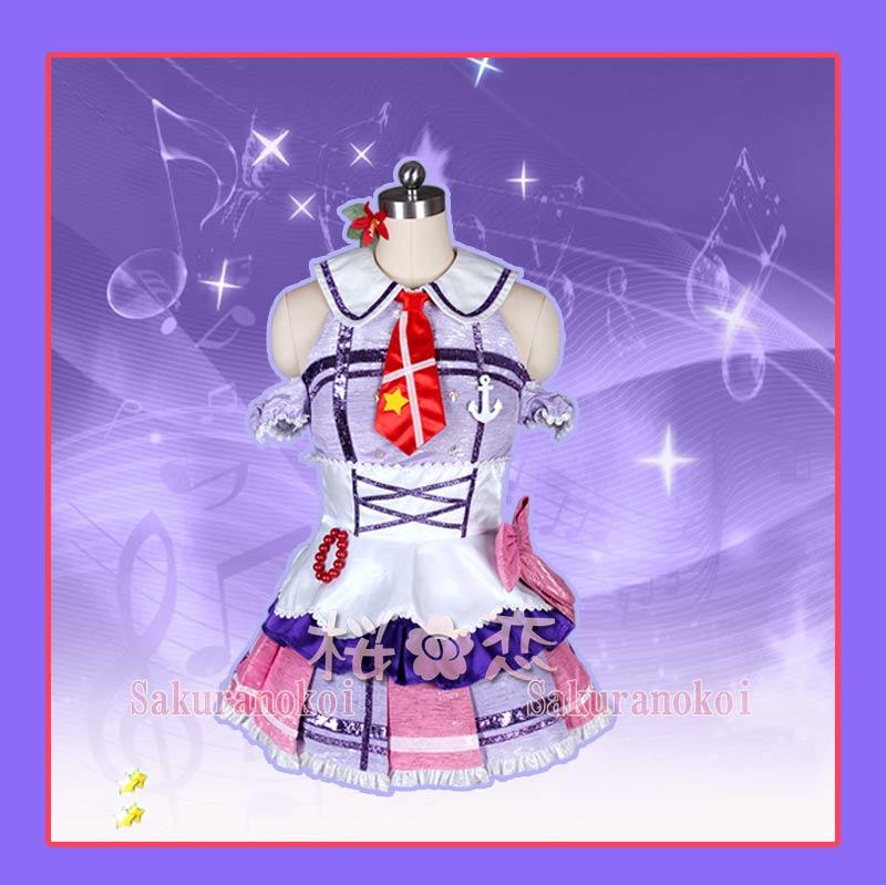 ラブライブ!サンシャイン!! コスプレ 衣装 lovelive sunshine  黒澤ダイヤ 風 君のこころは輝いてるかい  コスプレ衣装 浦の星女学院風 コスチューム コミケy1754