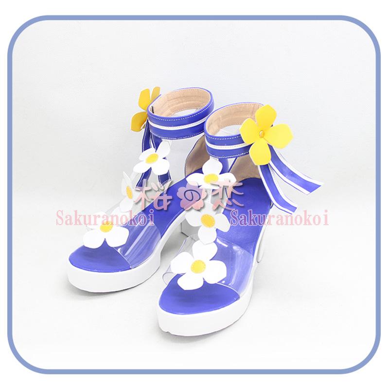 原神 げんしん genshin バーバラ 靴 コスプレ サンダル cosplay イベント パーティー コスチューム 変装 仮装 cz2161