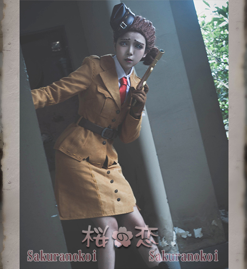 IdentityV 第五人格 コスプレ衣装 空軍 風 マーサ・バハムフィール 仮装 変装 コスチューム イベント ハロウィン mj029