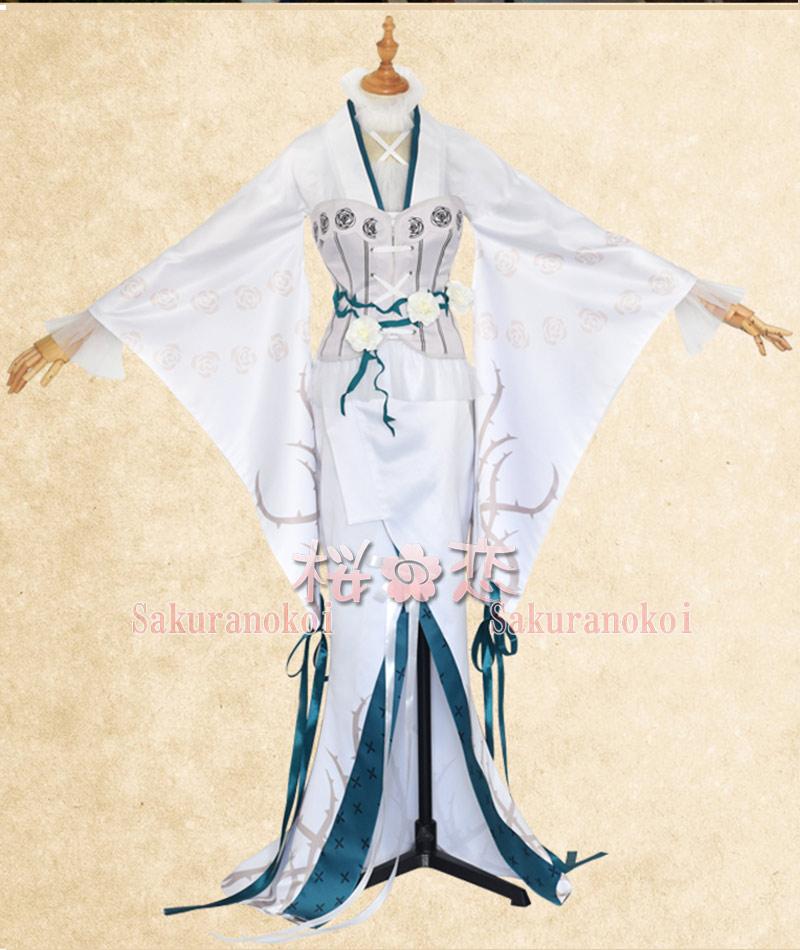 コスプレ衣装 ローゼンメイデン 雪華綺晶(きらきしょう) 風  Mercury Lampe 風 コスチューム イベント パーティーhs006