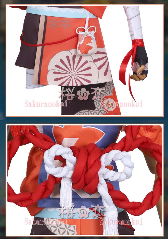 原神 げんしん genshin 稲妻 宵宮 よいみや コスプレ 衣装 cosplay イベント パーティー コスチューム 変装 仮装 hs018