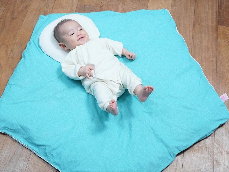 まんまる枕(さらさらニットカバー・アイボリー)