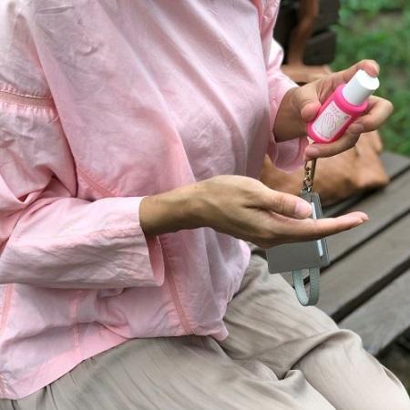 わすれずハンドジェル3個セット(ピンク)