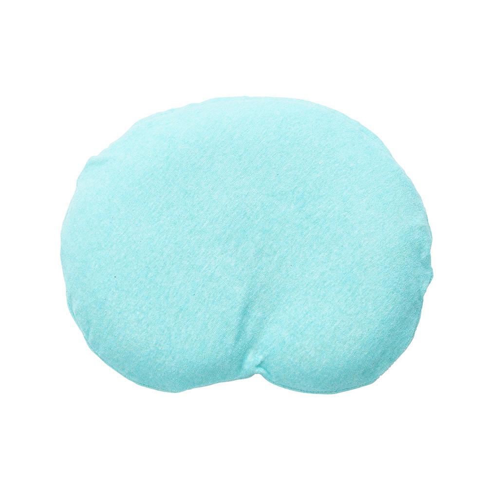 【セット】まんまる枕(ターコイズ)とぐっすり座布団本体&専用カバー(イエロー)