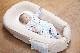 【セット】まんまる枕(アイボリー)とぐっすり座布団本体&専用カバー(アイボリー)