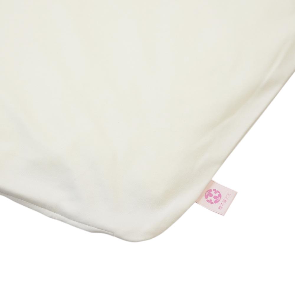 【セット】ぐっすり座布団本体&専用カバー2色(アイボリー&ピンク)