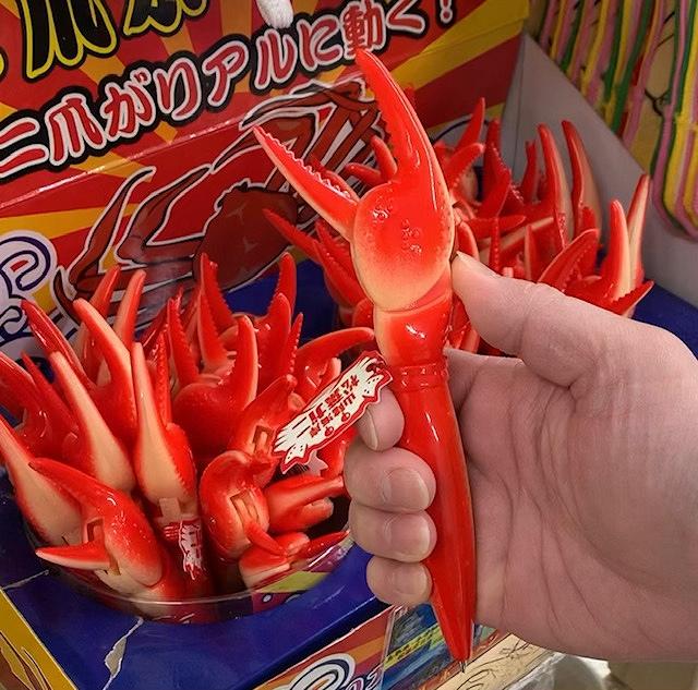 【大人気】蟹のハサミ アクションペン ボールペン 山陰海岸 松葉がにボールペン