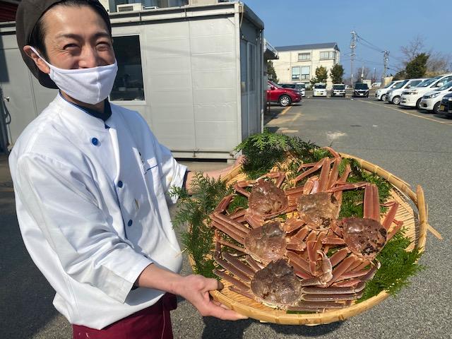 【数量限定!送料無料】鳥取県産 茹で松葉がに2尾セット (計約900g〜)(タグ無し) 冷蔵配送 ※ほかの商品との同梱不可