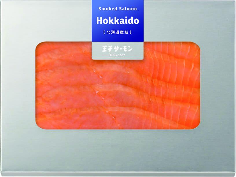【GINZA SELECTION】北海道産鮭・スモークスライス(60g)
