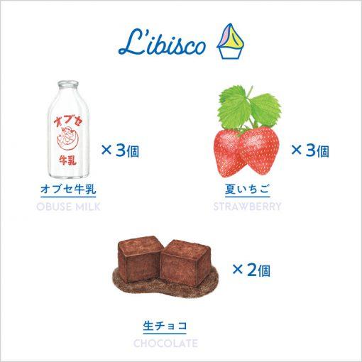 【LIBISCO GELATO】こだわりのファミリー8個入りセット(LG48)