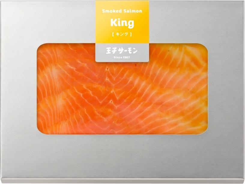キングサーモンスモークスライス(60g)