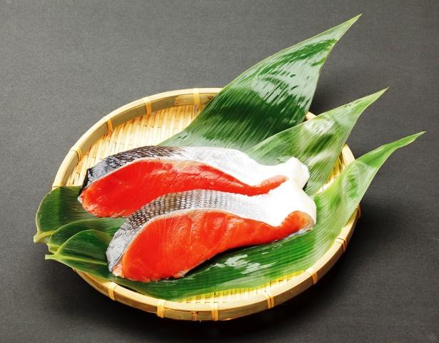 カナダ産紅鮭切り身・中辛口(2切れ入)