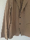 AURALEE A20SJ01FB  FINX HARD TWIST GABARDINE JACKET オーラリー ツィストギャバジン ジャケット (BROWN)