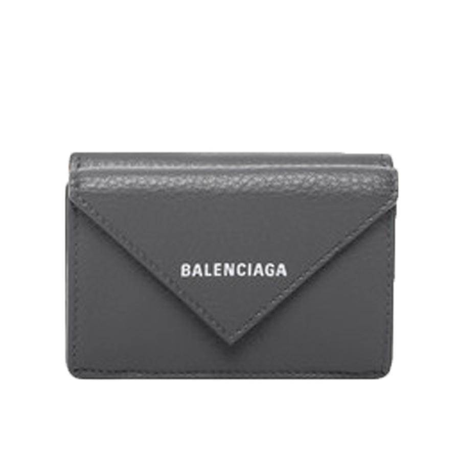 BALENCIAGA PAPER MINI (BLACK/GREYY) / バレンシアガ  ペーパーミニウォレット