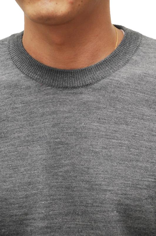 ALLEGE HAND TWIST WOOL KNIT (G) / アレッジ ハンドツイストウールニット