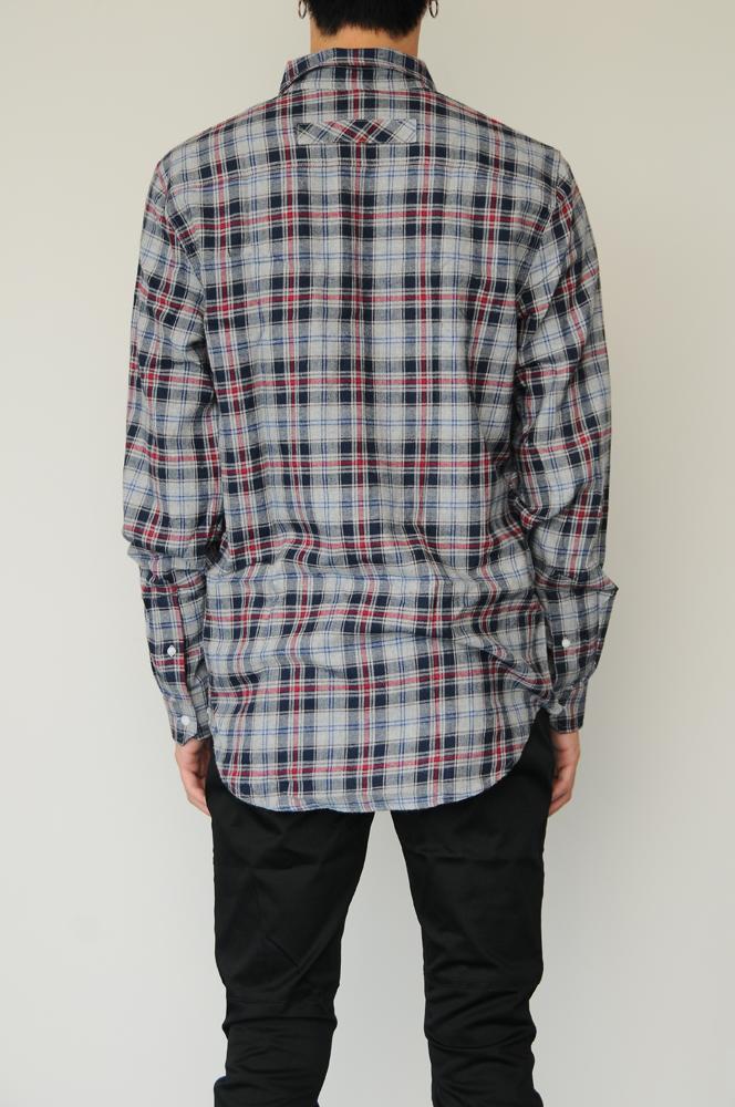 STAMPD L.A PLAID FLANNEL SHIRT  (N) / スタンプドエルエー フランネル チェックシャツ