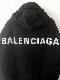 BALENCIAGA WIND BREAKER COAT  (BLK) / バレンシアガ ウィンドブレーカーコート