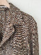 AURALEE A20AB01MT  WOOL SILK MIX TWEED BLOUSON オーラリー ミックスツィード ジャケット (BROWN)