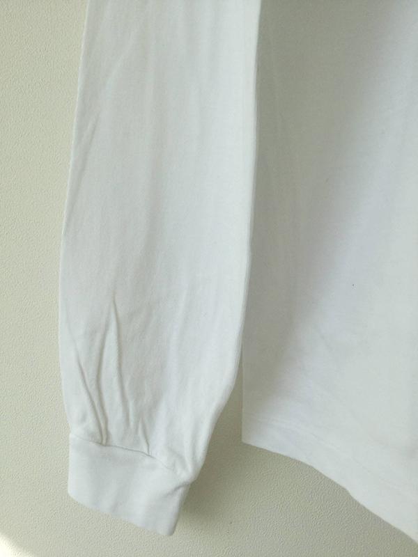 AURALEE A20AP03ST  SEAMLESS  L/S TEE オーラリー シームレス ロングカットソー (WHITE)