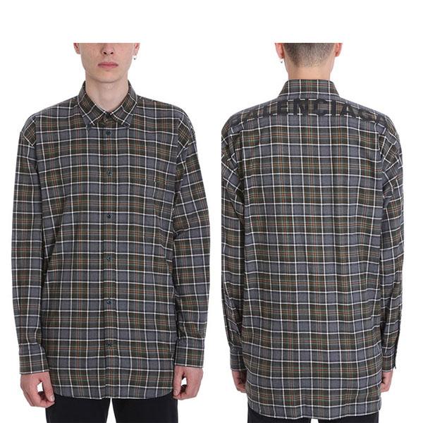 BALENCIAGA SHIRT/ バレンシアガ ロゴビッグシャツ