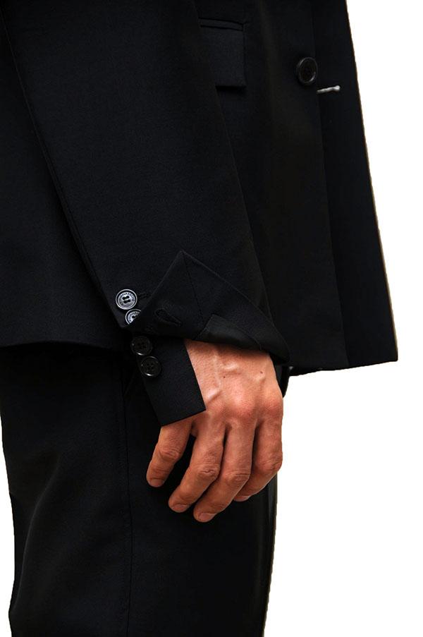 KRIS VAN ASSCHE SHORT JACKET (BK) / クリスヴァンアッシュ ショート ジャケット