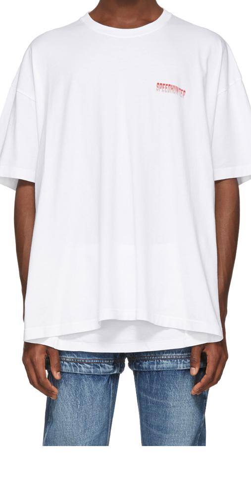 BALENCIAGA SPEED HUNTER S/S T SHIRT / バレンシアガ スピードハンター Tシャツ  (WHITE)