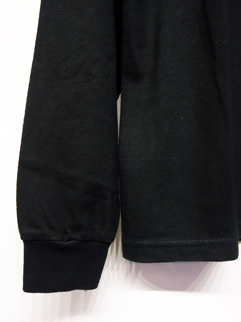TANGTANG REVERSE LONG SLV TEE -PERFECT- (BK) / タンタン リバース ロングスリーブTシャツ