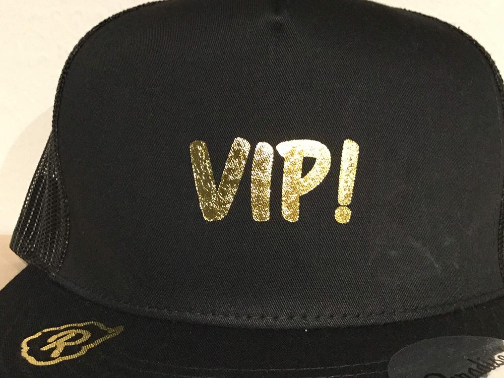 Paradise! Mesh Cap -VIP- (BK/GOLD) / パラダイス メッシュキャップ/ハット