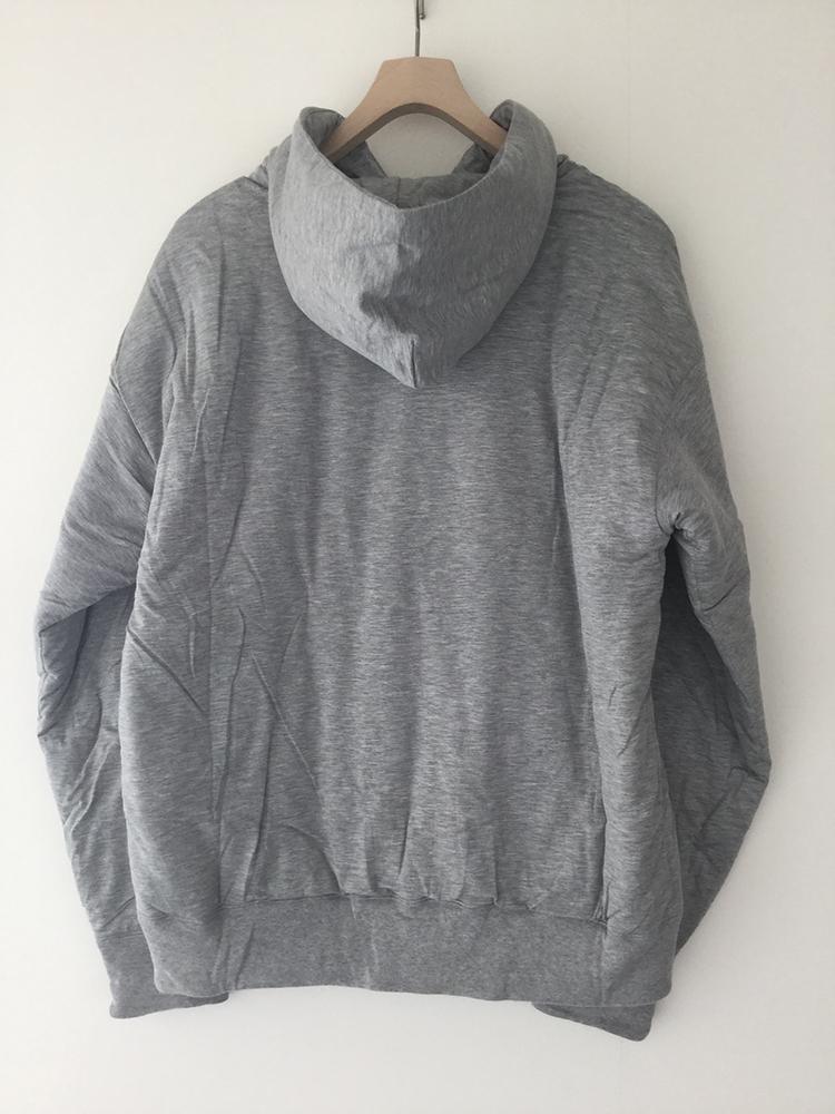 AURALEE A20AP02NW DOUBLE CLOTH PUFFER P/O PARKA オーラリー オーバーサイズ中綿パーカー(GREY)