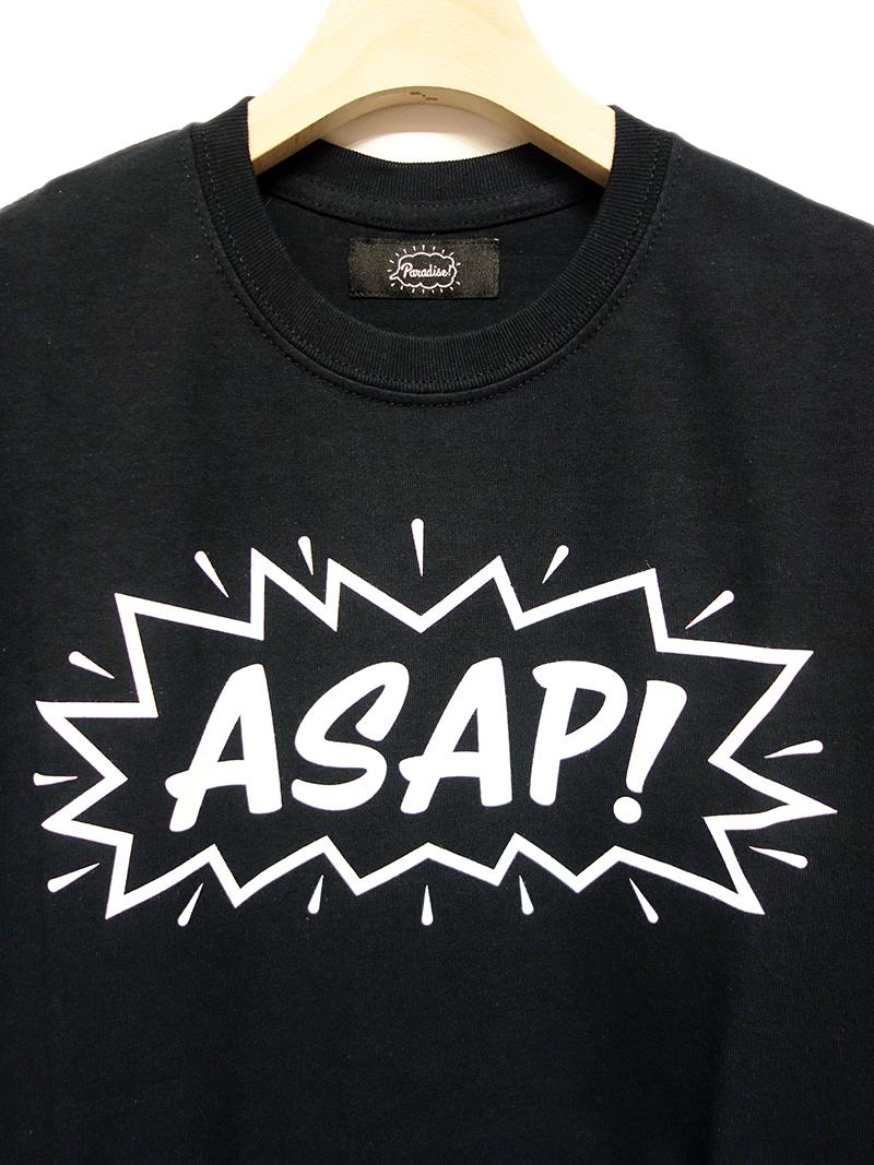 Paradise! Tee -ASAP- (BK) / パラダイス  Tシャツ