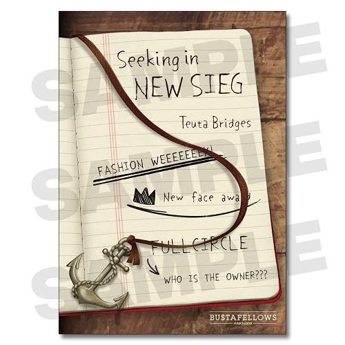 【グッズ】 シナリオブック「Seeking in NEW SIEG」(オリジナルしおり付)