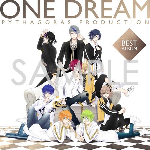 ピタゴラスプロダクション ONE DREAM BEST (キャラコメ入りL版ブロマイド3枚セット付)