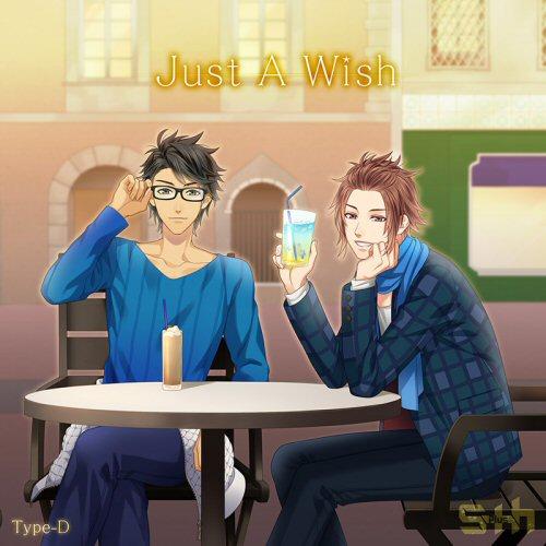 S+h(スプラッシュ)「Just A Wish」 Type-D【ネコ旅 断食修行編<秀也&晃>】 (缶バッジ付)