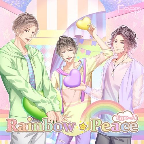 Frep(フレップ)「Rainbow☆Peace」Type-A 【激スク 落語家先生編<光&創多&奏斗>】 (缶バッジ付)