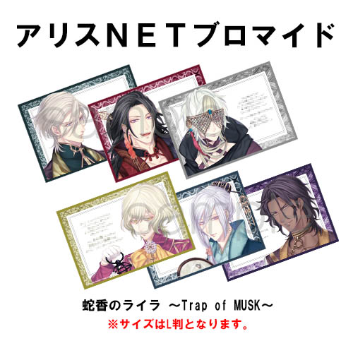 【NS】 蛇香のライラ 〜Trap of MUSK〜 通常版 (キャラクターメッセージ入りL版ブロマイド付)