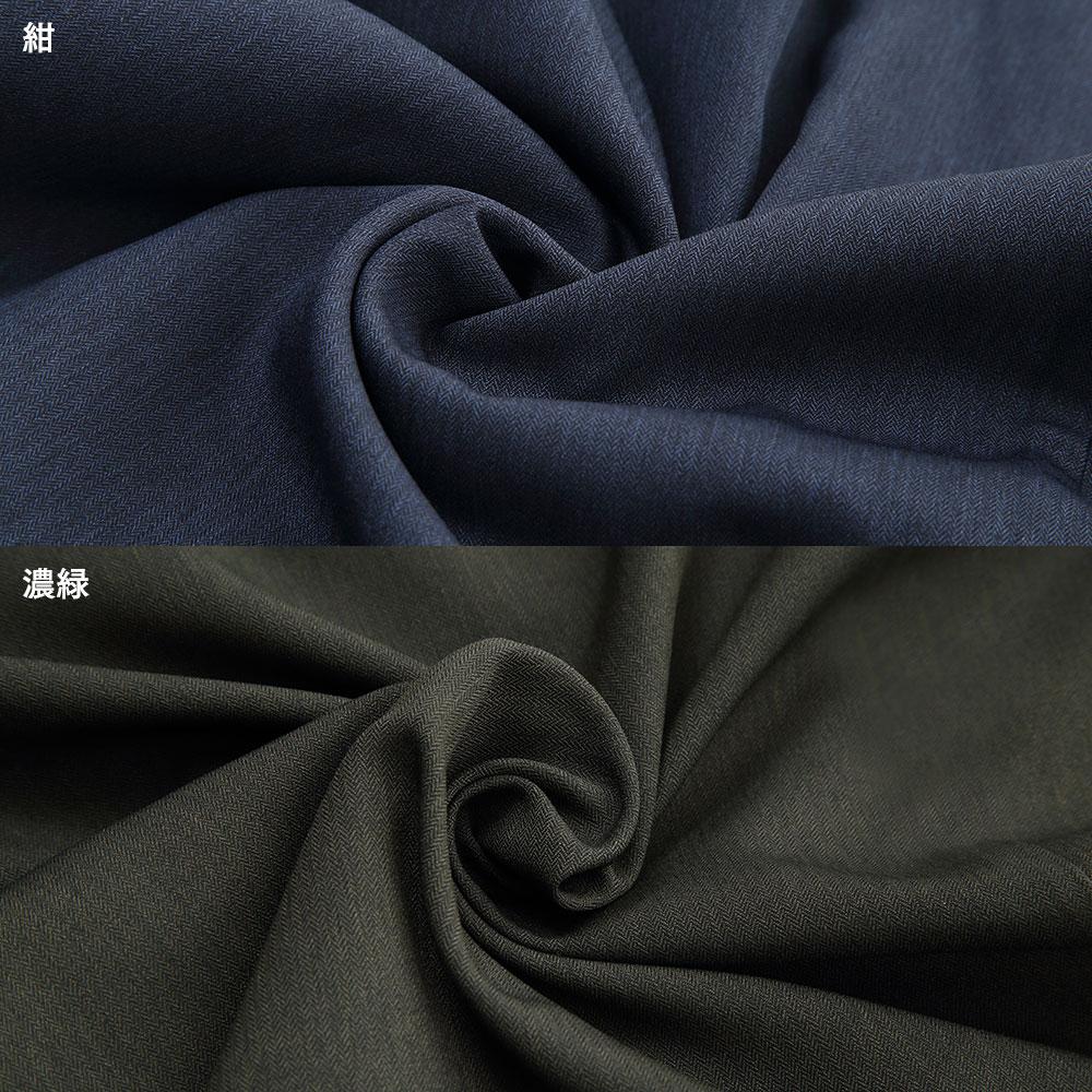 匠粋 洛々作務衣(男女兼用)(ベージュ・紺・濃緑)(上下セット)(S-LL)