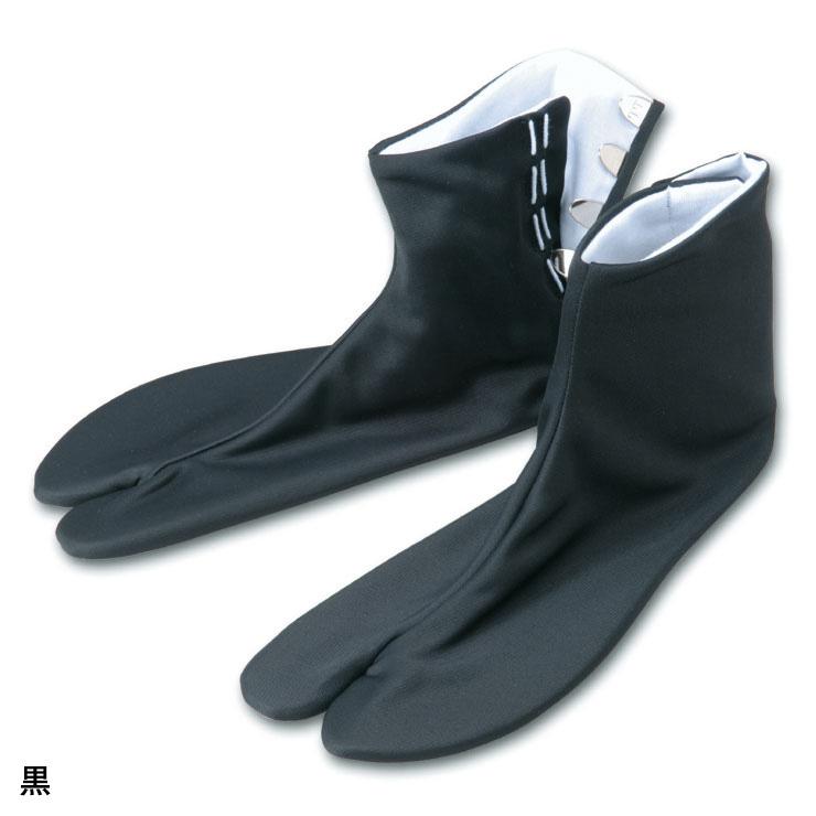 ストレッチこはぜ付足袋(黒・白)(S-5L)