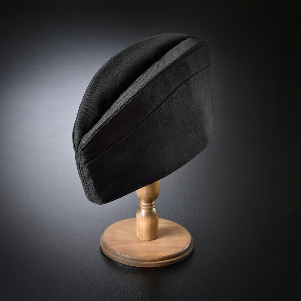 ギャリソン帽子 黒