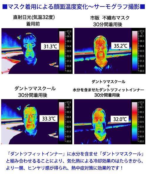 ひんやり接触冷感 ダントツマスクール(S(子ども用)・M(大人用))(S-M)