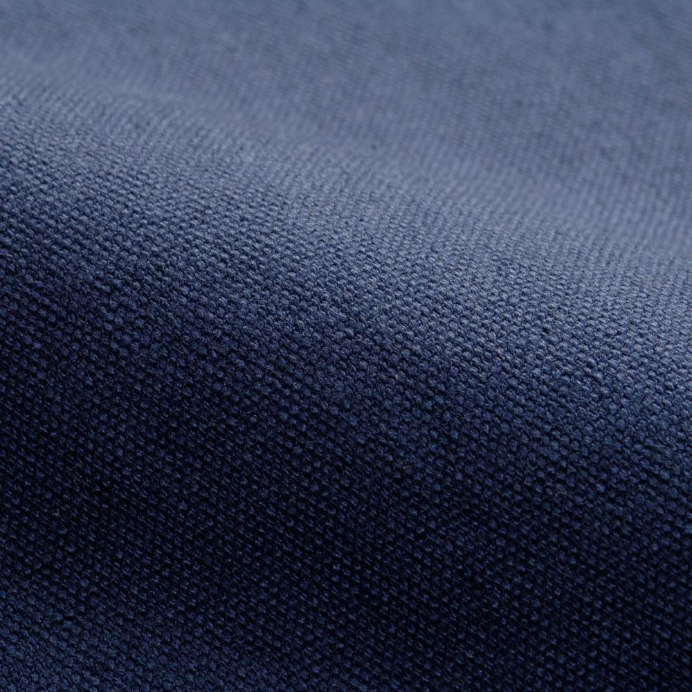 帆布作務衣 濃藍[日本製](上のみ)(S-BIG)