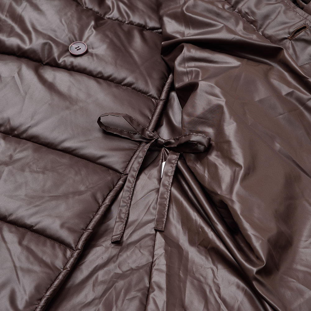 寺院専用中綿入りコート(茶・黒)