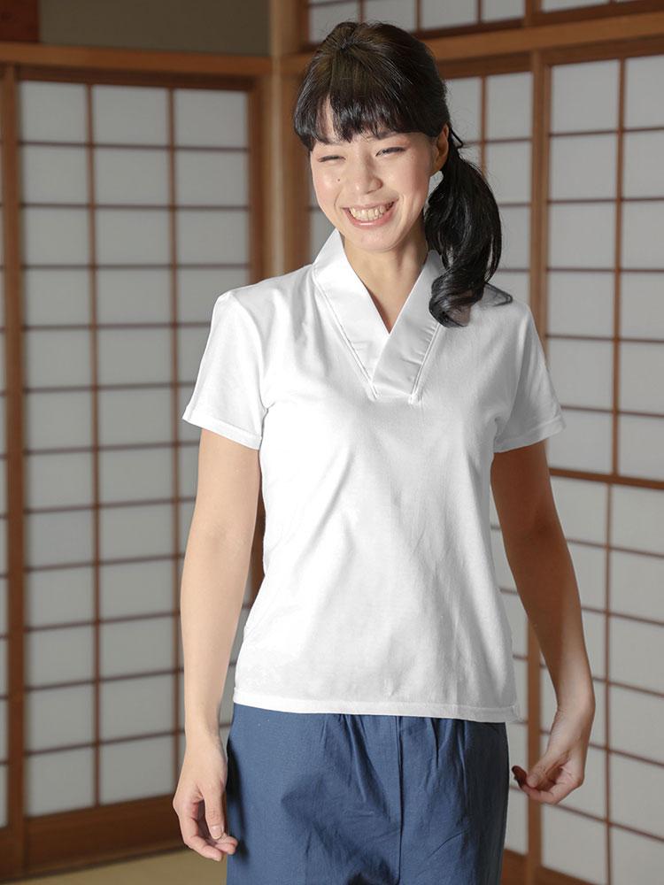 女性用 Tシャツ半襦袢 半袖(S-L)