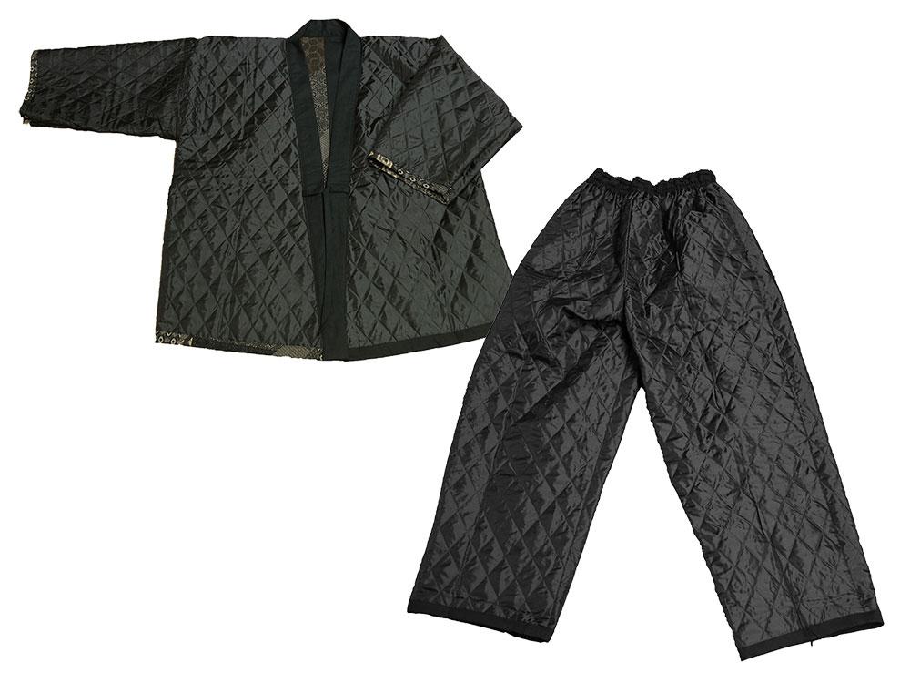 古織柄キルト作務衣(M-LL)