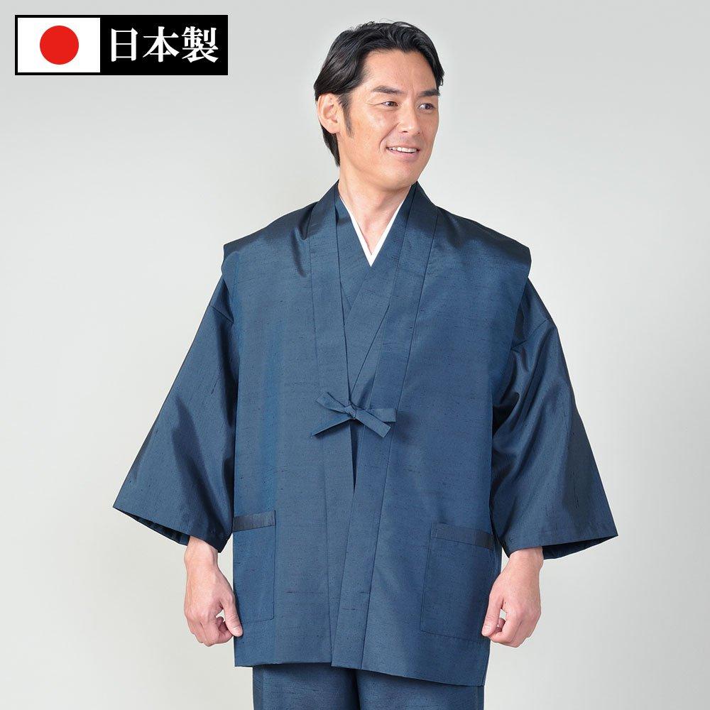 桐生正絹羽織 玉糸(S-L)
