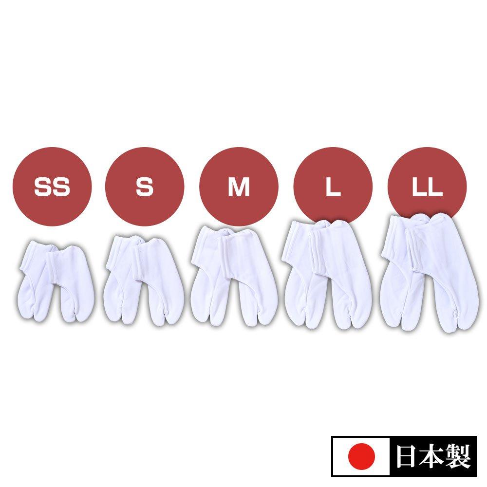 ソックス足袋 子供用(SS-LL)