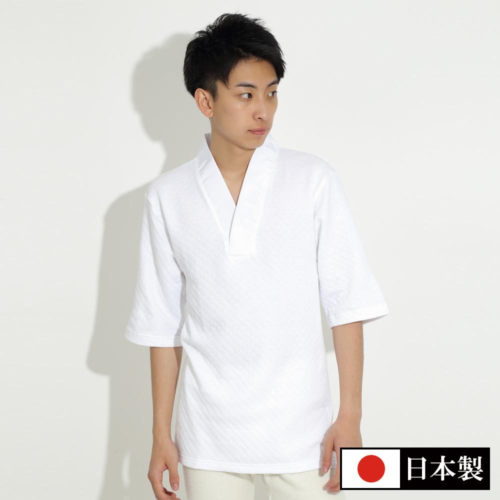 綿キルトTシャツ半襦袢(M-LL)