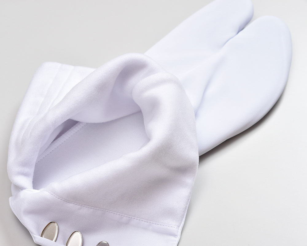 特級手掛け足袋 ネル裏 4枚コハゼ(21.0-27.0cm)
