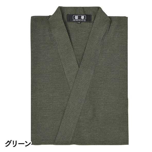 桐生綿しじら織甚平(7色)(M-3L)
