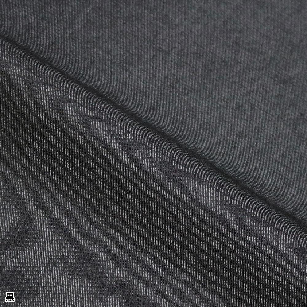 T/C 6オンスデニムロールアップ作務衣(中紺・濃紺・黒)(M-LL)