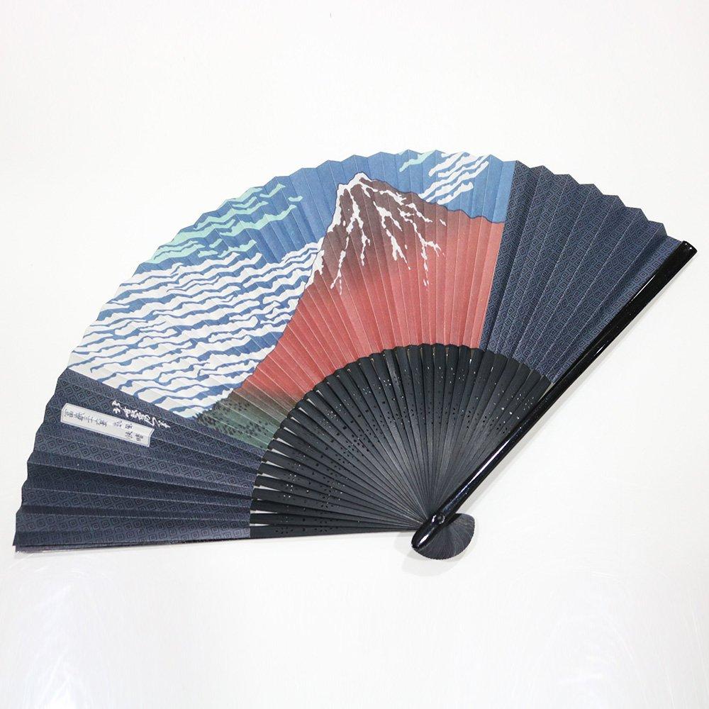 京扇子 高級和紙 赤富士